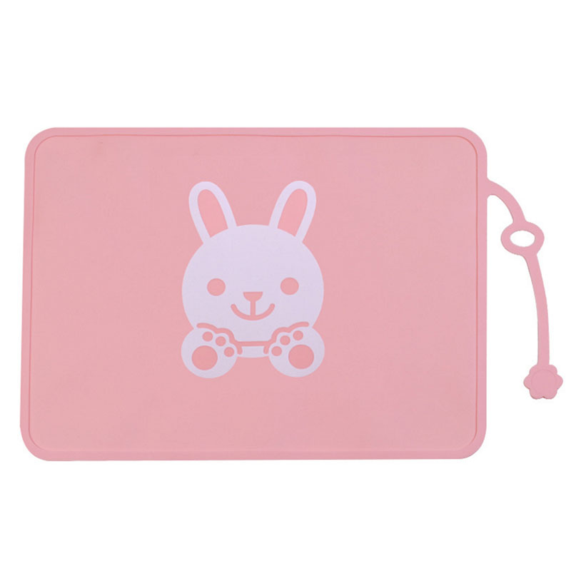 Wholesale waterproof high quality silicone suction baby feeding placemat food grade FDA