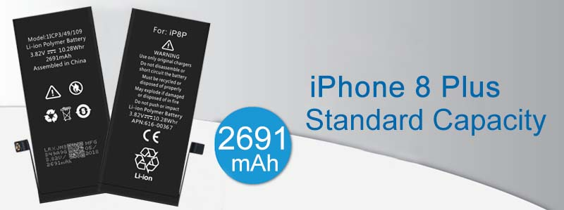 iPhone 8p mobile phone battery suppliers