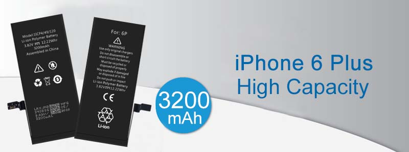 reasonable price high capacity iphone 6p battery