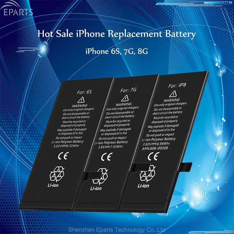 sufficient stock lithium ion cell phone battery