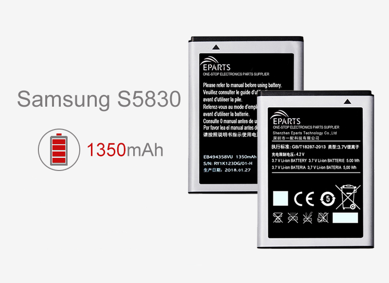 Samsung S5830 battery price affordable