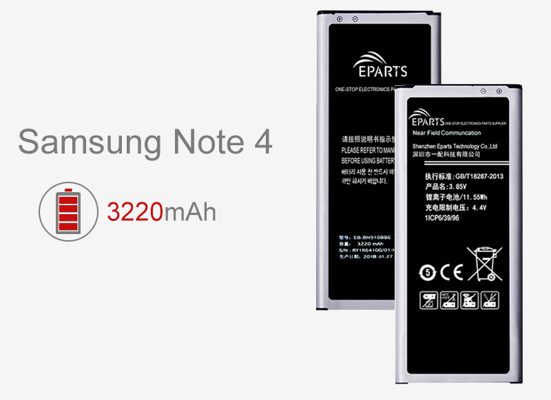 Samsung Note 4 battery for sale wholesale supplier