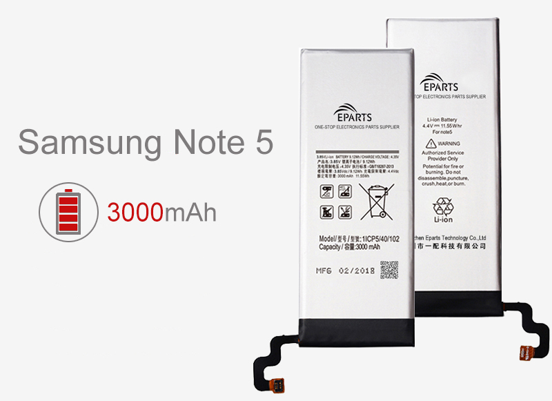 Long Samsung battery life