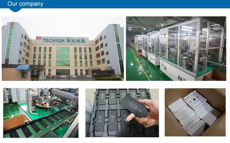 Automatic line iphone battery wholesale factory