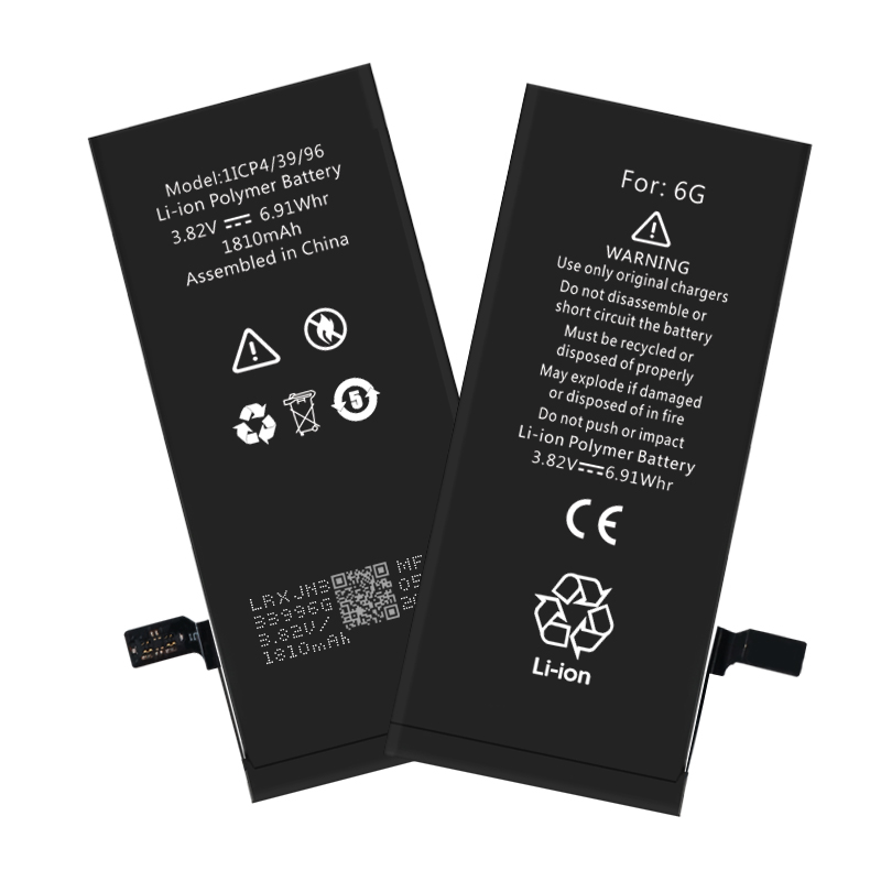 High safety and large capacity iPhone 6G battery wholesale