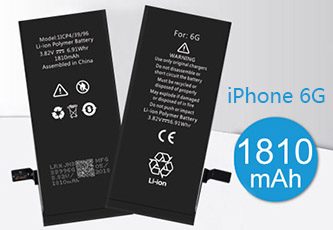 The iPhone battery manufacture tells you what type of battery the iPhone 6 is use