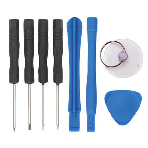 Wholesale simple and practical 8 pcs sets of cell phone repair tools