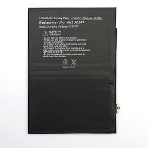 IPad Battery Manufacturer Customized High Quality IPad 6 Battery