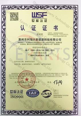 ISO9001 Quality Certification