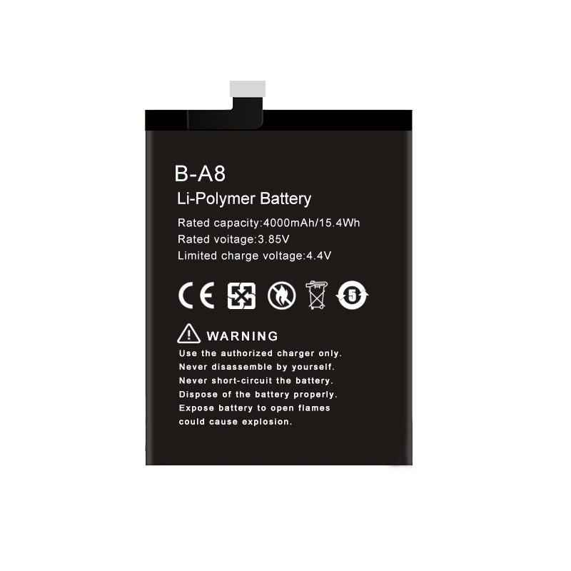 Rechargeable Li-polymer mobile phone replacement battery for VIVO X7 Plus B-A8