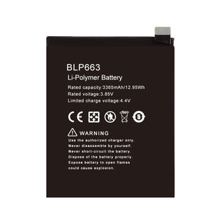 Hot selling mobile phone Battery For OPPO BLP663 R15
