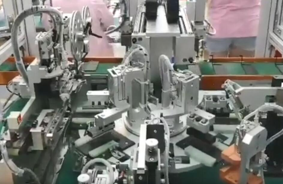 Apple battery automatic production line