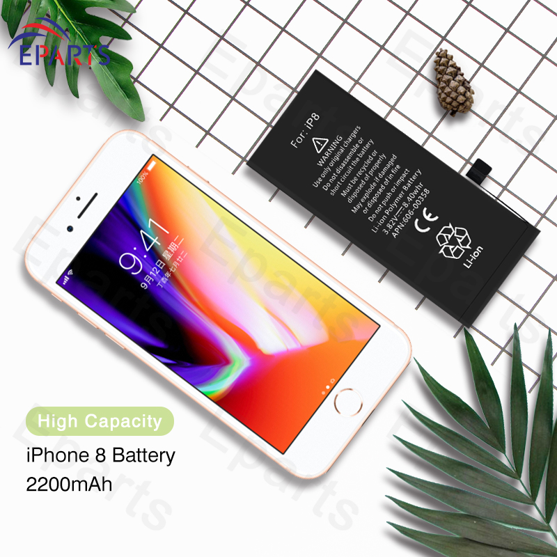 High Quality Original Replacement Battery For iPhone 8