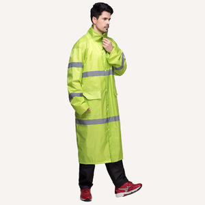 7527 Safety Long Waterproof Raincoat