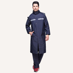 men women outdoor 7441  Safety Rain Coat Waterproof Suit Long supplier