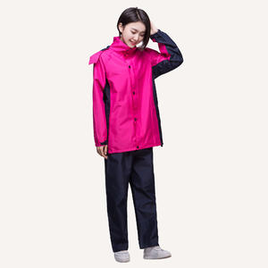 OEM safety 7805 Anti-static Waterproof Suit Waterproof Rain Jacket design
