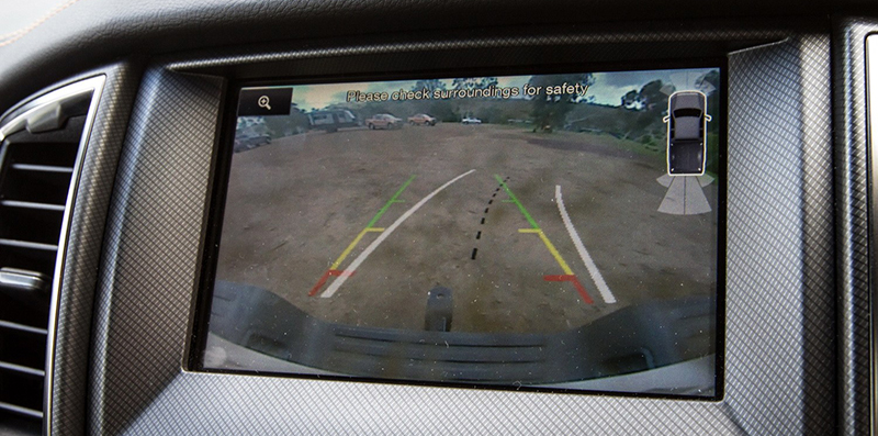 rear view camera interface
