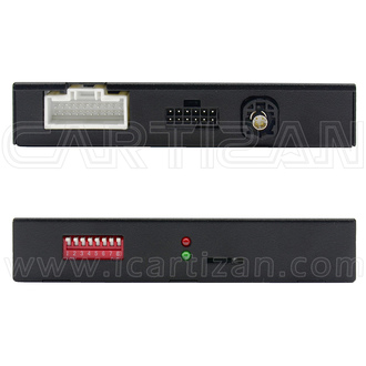 Video interface for Peugeot and Citroen with parking guideline (PAS-FR-183P)