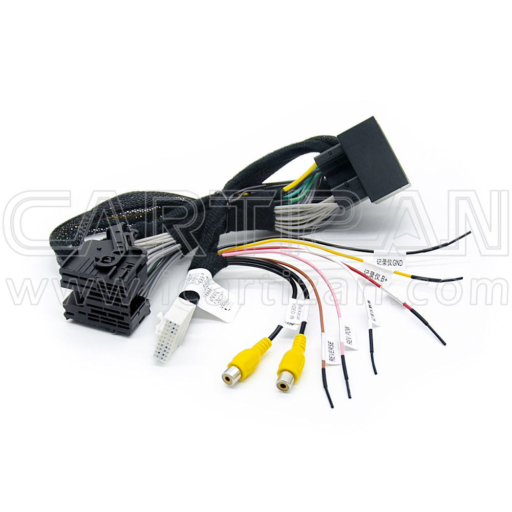 Video interface for Peugeot and Citroen with parking guideline (PAS-FR-192P)
