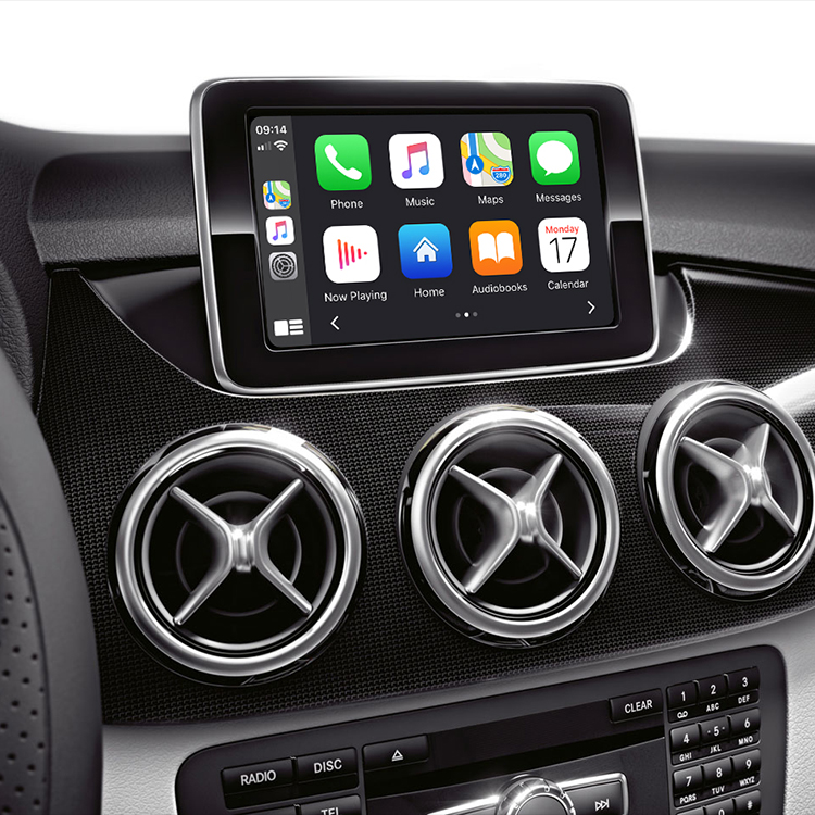 Multimedia interface wireless CarPlay /Android Auto/Mirroring adapter for Mercedes-Benz A/B/C/E/CLA/GLA/GLK/ML class NTG 4.5/4.7 (VI-MB-39C2)