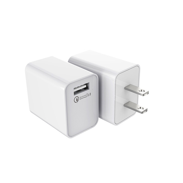 18W 1USB (US-EU-UK) Quick Charger 3.0