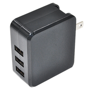 Custom-made high quality 3 USB 5V 4.4A charger on sale.