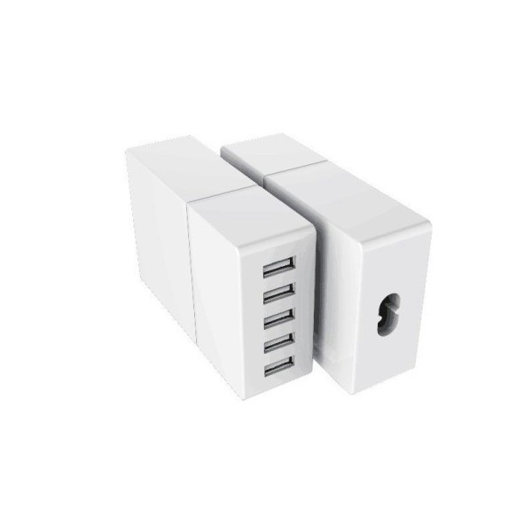 52W 5USB Desktop Charger