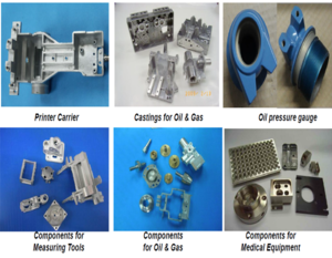 Metal Parts BU responsible for magnesium alloy machining parts export.