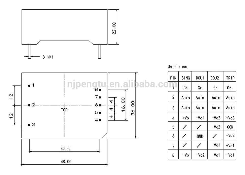 PA-C Series 3-6W ac and dc power supply