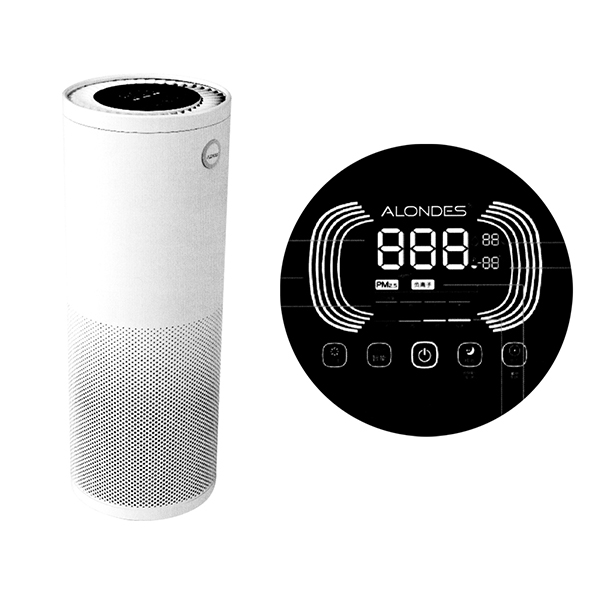 Household portable air purifier H7