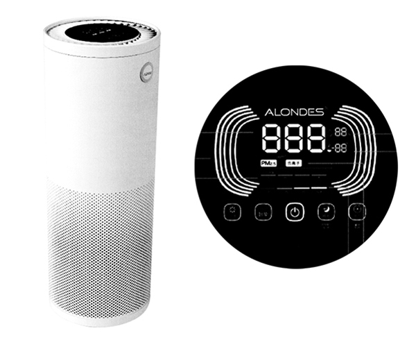 Commercial smart air purifier H6