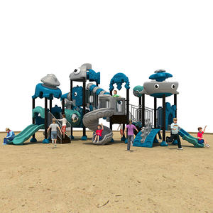 Sea Theme Amusement Park Playground Equipment HS18101W-O
