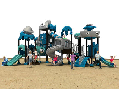 Amusement Park Playground Equipment HS18101W-O