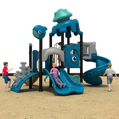 Residential Outdoor Playground Equipment HS18102W-O