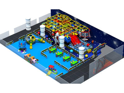 Indoor Soft Playground Equipment HS18203W