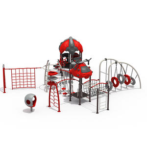 Customized hot selling outdoor plastic playground for kids manufacturer