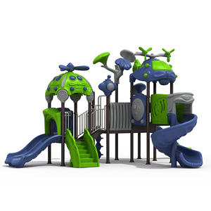 Customized hot selling outdoor playground slides manufacturer
