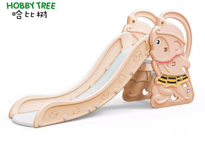 New product monkey theme indoor slide set for family use HBS18013