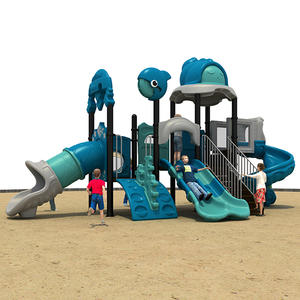 Customized good quality outdoor playground equipment for preschool on sale