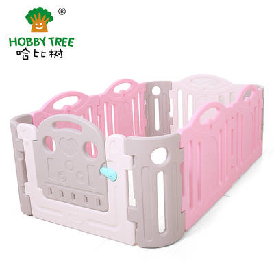Plastic baby game fence