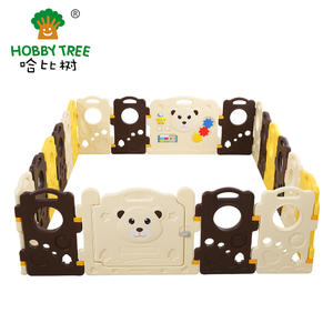 Customized hot selling Plastic baby game fence For Children