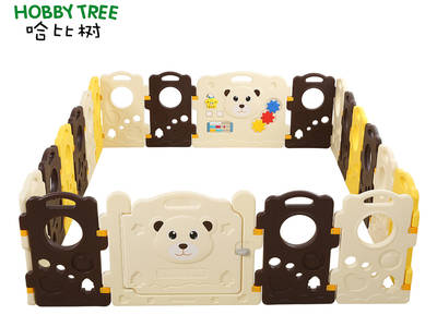 New style plastic baby game fence
