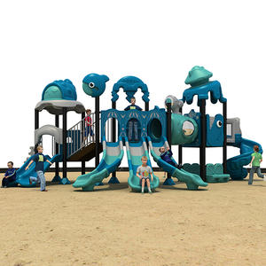 2019 Ocean Theme Outdoor Play Equipment For Hotel HS18107W-O