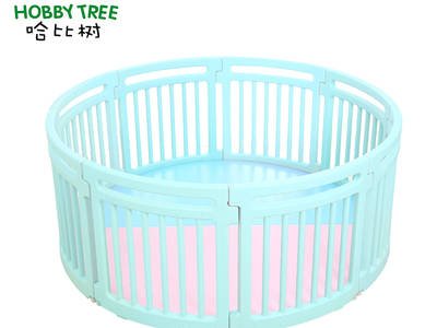 Plastic indoor baby safety fence