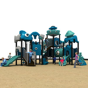 PVC Material Ocean Theme Preschool Playground Equipment HS18110W-O