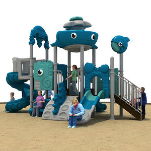 Customized good quality amusement park playground slide on sale