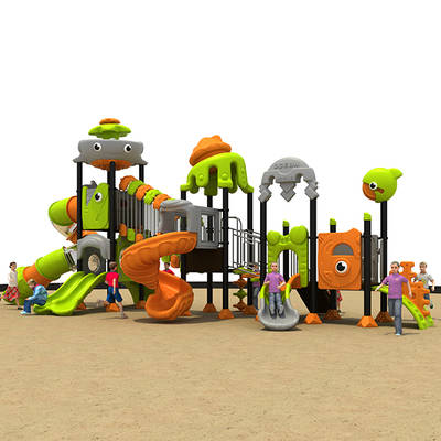 outdoor park plastic Children slide combination HS18115W-O