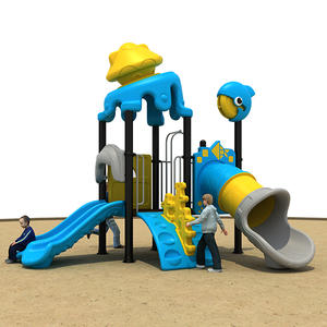 Customized good quality outdoor playground for garden equipment on sale