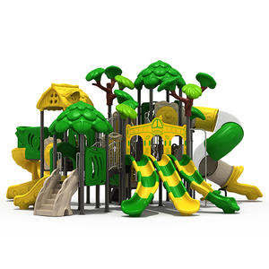 Customized Jungle Theme outdoor playground school equipment factory