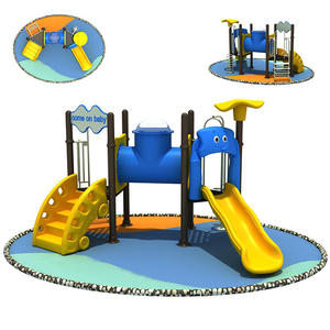 Mini Outdoor Playground Equipment For Preschool